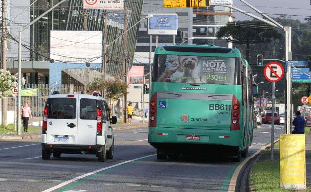 Motorista que desrespeitar faixa exclusiva de ônibus no Seminário passa a ser multado