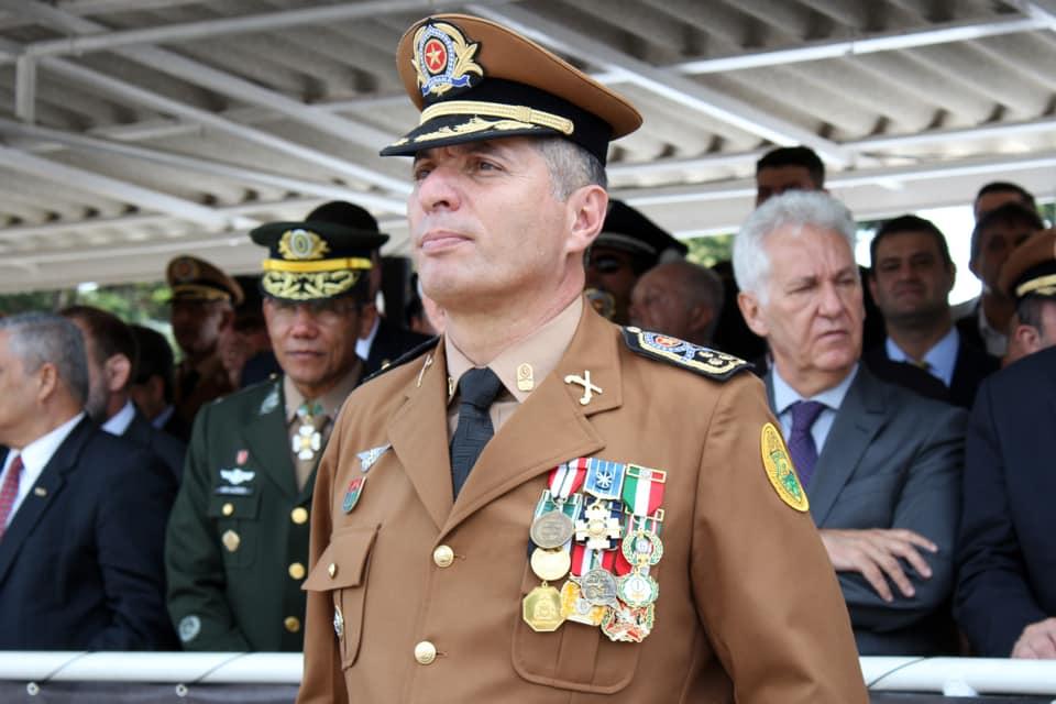 Comandante-Geral da PM, Coronel Péricles deve assumir Secretaria de Defesa Social e Trânsito de Curitiba