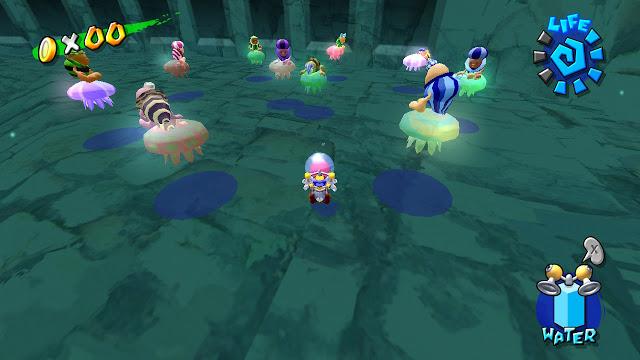 Noki, o povo concha de Super Mario Sunshine