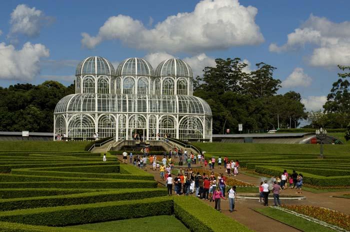 Jardim Botânico,um dos cartões postais de Curitiba