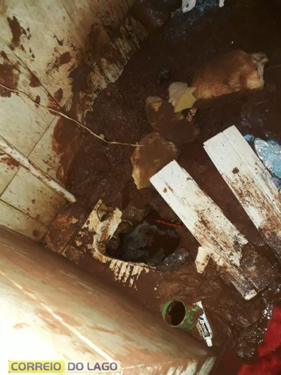 Presos tentam fugir cavando túnel a partir do vaso sanitário, em Santa Helena- OBemdito