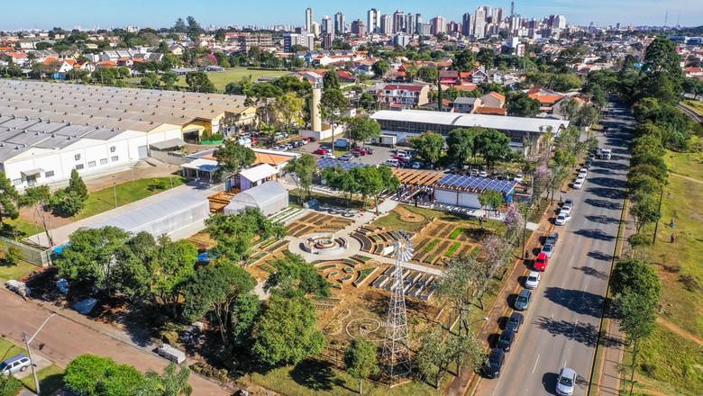 Fazenda Urbana Curitiba (Foto: Daniel Castellano/SMCS)