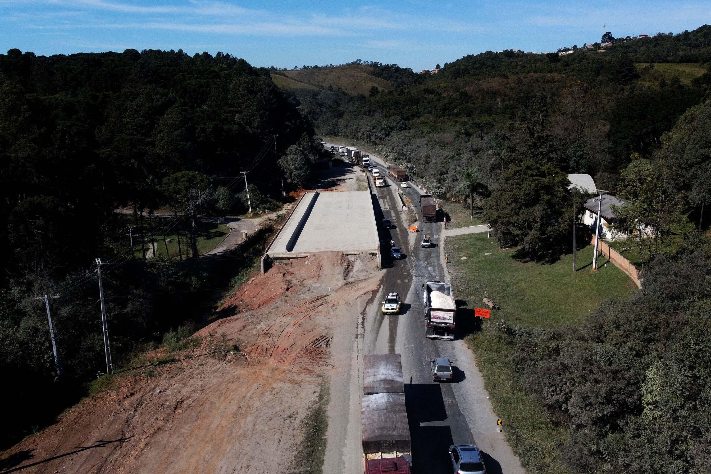 Infraestrutura e Logstica: Obras de duplicao da Rodovia dos Minrios atingem 25% de execuo