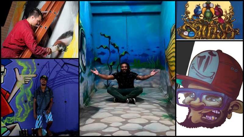 Intervenção cultural em Curitiba promove a união da arte do skate com o grafite