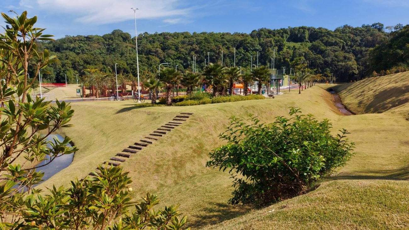 Próximo ao Centro de Inovação, o Parque fica localizado no bairro Três Rios do Sul - Divulgação/PMJS