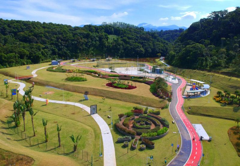 Parque da Inovação reúne equipamentos culturais e de lazer – Foto: Divulgação/PMJS