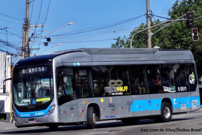 SPTrans assina carta de intenções com instituto internacional para criar um roteiro de adoção de ônibus elétricos