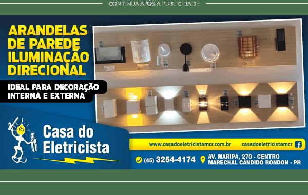 Casa do Eletricista ARANDELAS